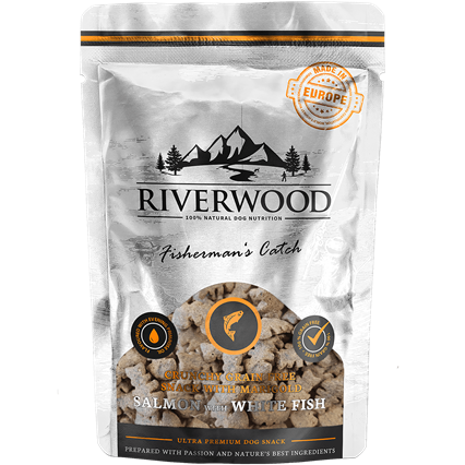 RIVERWOOD | Crunchy Snack - Salmon & White Fish
