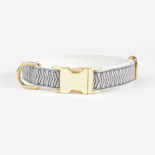SEE SCOUT SLEEP | Halsband - Chef L'Bark Cream & Black