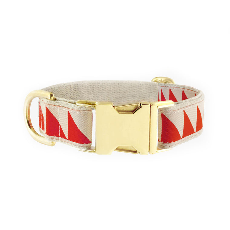 SEE SCOUT SLEEP | Halsband - Nice Grill Cream & Vermillion