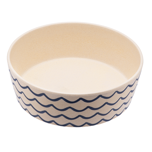 BECO PETS | Bamboo Bowl - Save the Waves