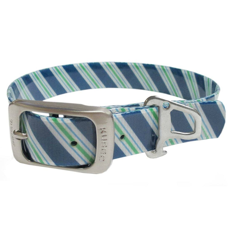 KURGO | Muck Collar - The Prepster Stripe - Atlantic Blue