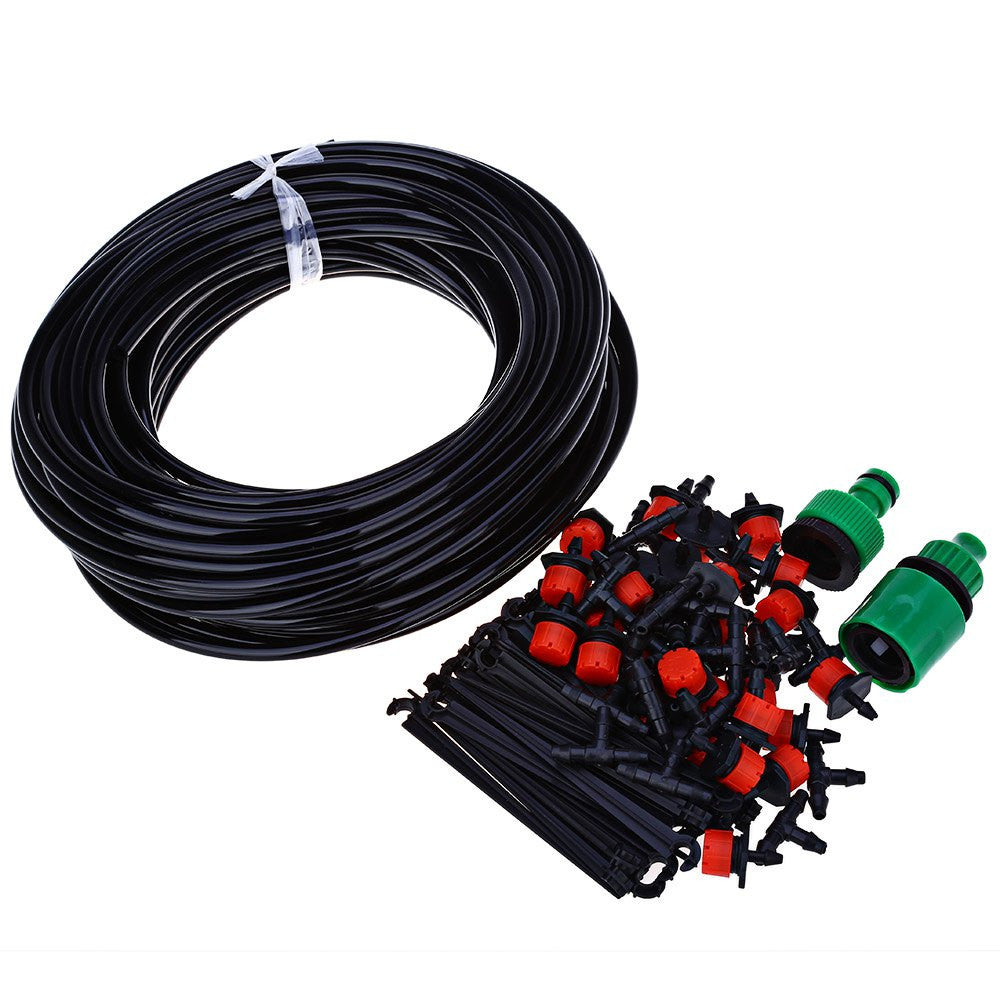 25m diy automatic micro drip irrigation system – my private outlet