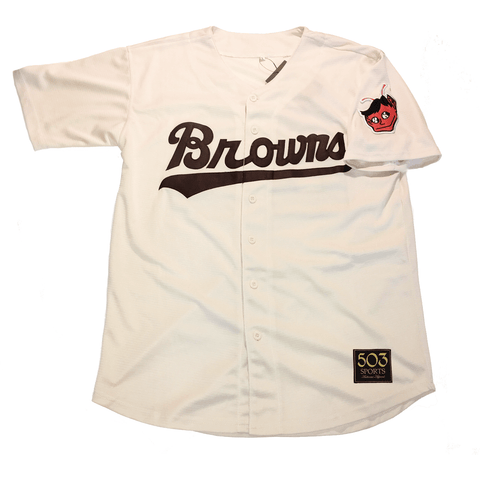 The best are at Street Wear Depot. Just like these 1953 Browns Jersey by 503 Sports