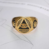 The best ring are at Street Wear Depot. Just like these Illuminati Ring