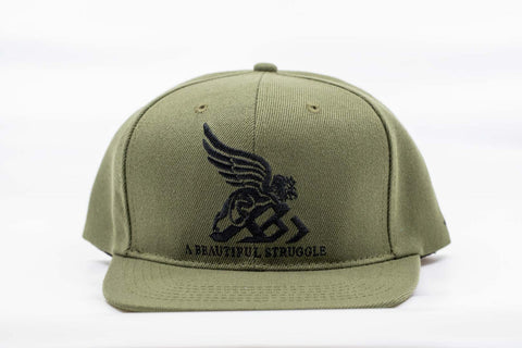 The best are at Street Wear Depot. Just like these A.B.S. LOGO SNAPBACK (army green) by A Beautiful Struggle, Inc.