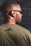 The best are at Street Wear Depot. Just like these A.B.S. LOGO TEE (army green) by A Beautiful Struggle, Inc.