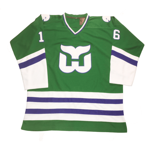 The best are at Street Wear Depot. Just like these 1979-91 Whalers Jersey by 503 Sports