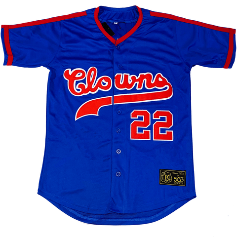 The best are at Street Wear Depot. Just like these Indianapolis Clowns Jersey by 503 Sports
