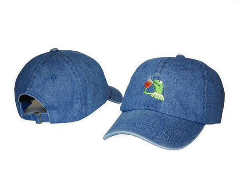 The best hats are at Street Wear Depot. Just like these Kermit Dad Hat Collection