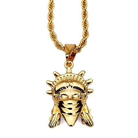 Crooked Liberty Pendant