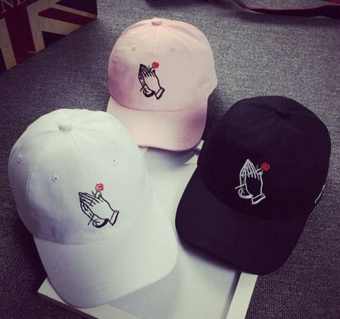 The best hats are at Street Wear Depot. Just like these Rose God Dad Hat