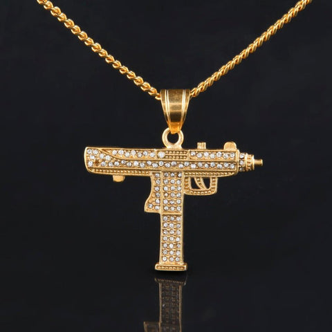 Lil Uzi Iced Necklace