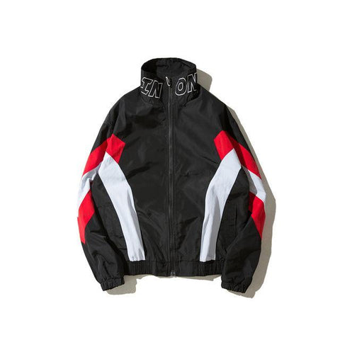 The best jackets are at Street Wear Depot. Just like these ONCEA Black Track Jacket