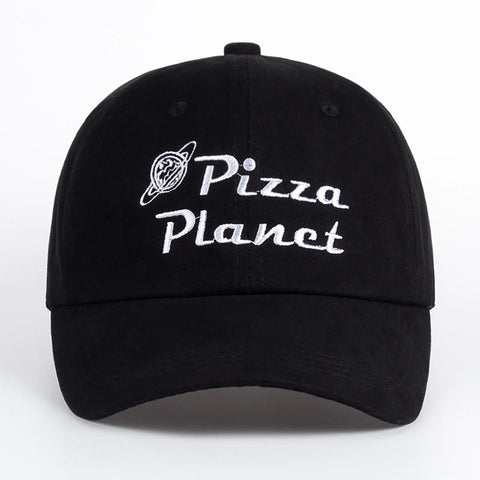 The best hats are at Street Wear Depot. Just like these Pizza Planet Dad Hat