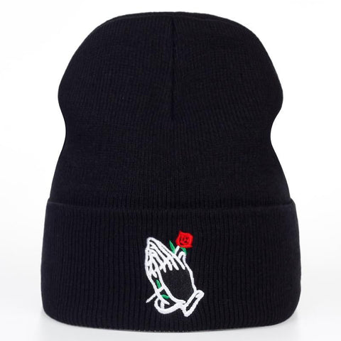 The best beanie are at Street Wear Depot. Just like these Rose God Beanies