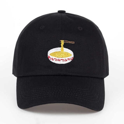 The best hats are at Street Wear Depot. Just like these Ramen Cap