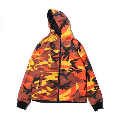 The best jackets are at Street Wear Depot. Just like these Tiger Camo Hoodie