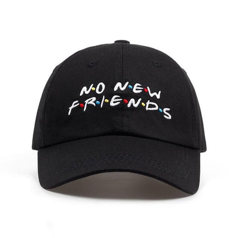 No new friends hat