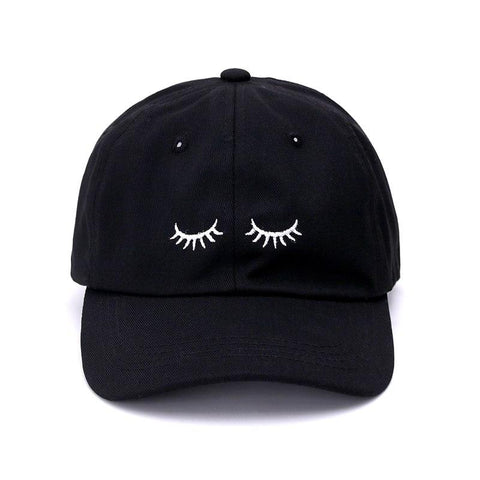 The best hats are at Street Wear Depot. Just like these Lashes Dad Hat