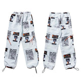 The best Joggers are at Street Wear Depot. Just like these Harajuku Harem Joggers