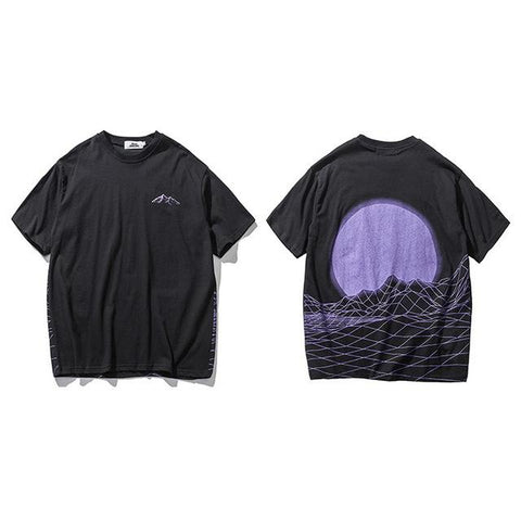 The best T-shirt are at Street Wear Depot. Just like these Purple Moon Rising Tees