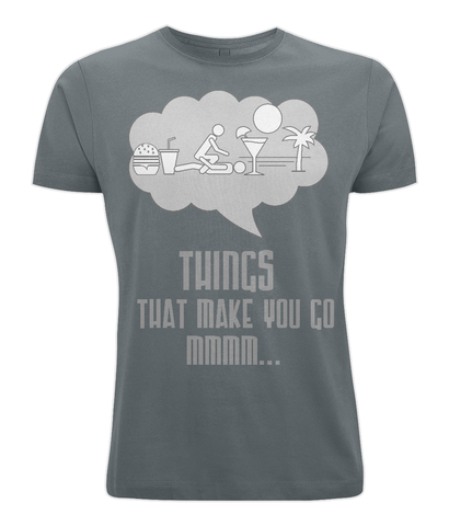 'Things That Make You Go Mmmm...' Bamboo Jersey T-Shirt-Clothing-LouLou-Loves