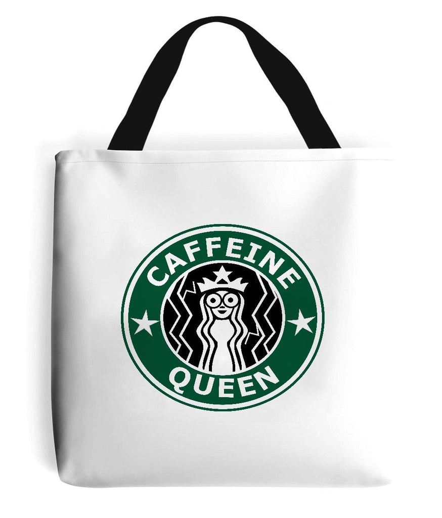 'Caffeine Queen' Tote Bag-Accessories-LouLou-Loves