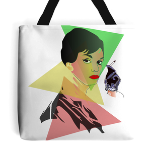 'Tiffany With A Twist' Tote Bag-Accessories-LouLou-Loves