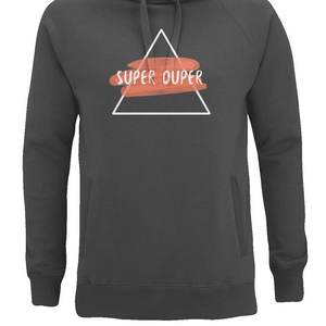 'Super Duper' Unisex Pullover Hoodie-Clothing-LouLou-Loves