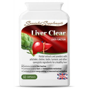 Liver Clear - Detox support-Supplements-LouLou-Loves