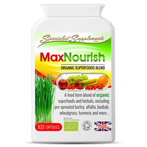 MaxNourish Organic Capsules - Organic Multi-Nutrient Superfood Supplement-Supplements-LouLou-Loves