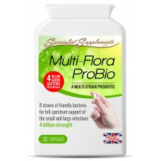 Multi-Flora ProBio - High Strength Multi Strain Pro-biotic-Supplements-LouLou-Loves