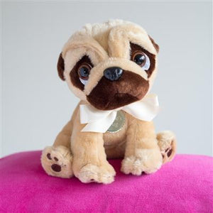 Doug The Pug - Super Cool Personalised Pug Cuddly Toy