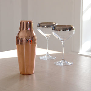 Polished Rose Copper Cocktail Shaker-Occasions-LouLou-Loves