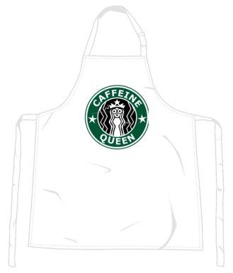 """Caffeine Queen"" Apron-Accessories-LouLou-Loves"