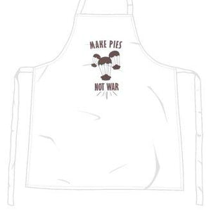 """Make Pies Not War"" Apron-Accessories-LouLou-Loves"