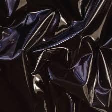 Double-Bed Sized Shiny Black PVC Sheet-Sheets-LouLou-Loves