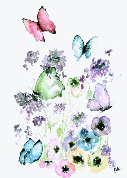 Prints Butterfly - 80% discount