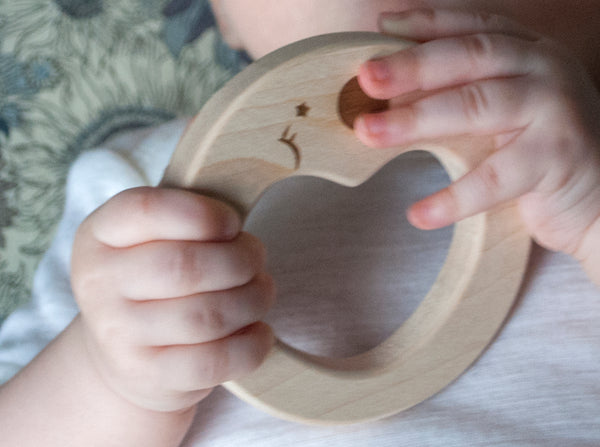 Teether Sleepy Moon - 50% discount