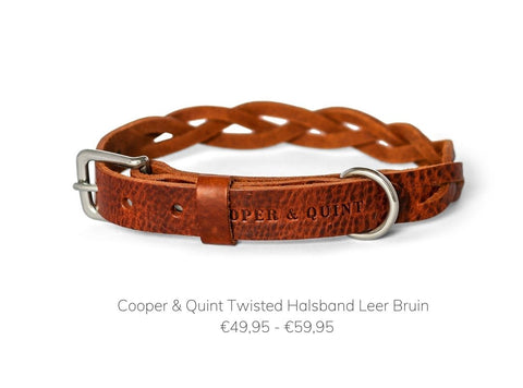 Cooper & Quint Twisted Halsband Bruin