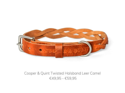 Cooper & Quint Twisted Halsband Camel