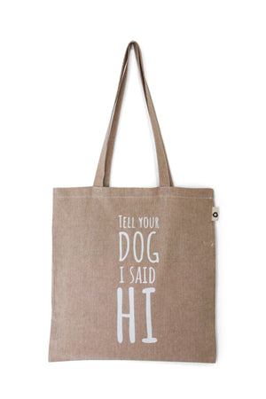 Cotton Tote Bag Hi Neutral - Cooper & Quint
