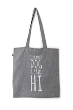 Afbeelding in Gallery-weergave laden, Cotton Tote Bag Hi Grey - Cooper & Quint
