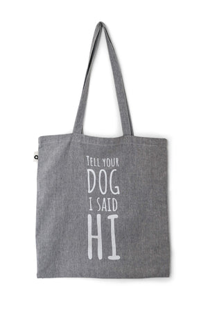 Cotton Tote Bag Hi Grey - Cooper & Quint