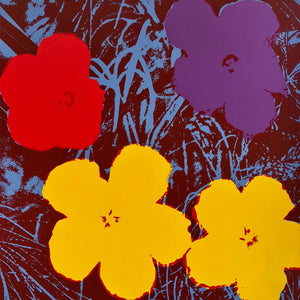 Andy Warhol / Sunday B Morning - 11.71: Flowers