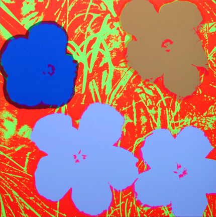 Andy Warhol / Sunday B Morning - 11.69: Flowers