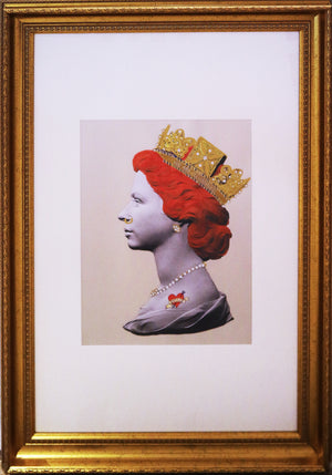 Illuminati Neon - Baby Red Punk Queen (Framed)