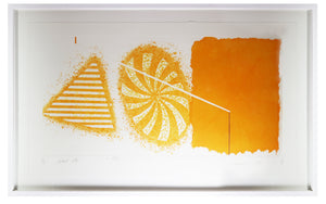 James Rosenquist - Black Star 2nd State (Framed)