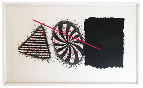 James Rosenquist - Black Star (Framed)