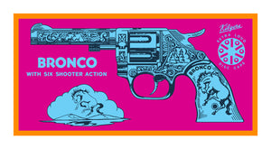 Terry Pastor - Bronco Six Shooter (Pink)